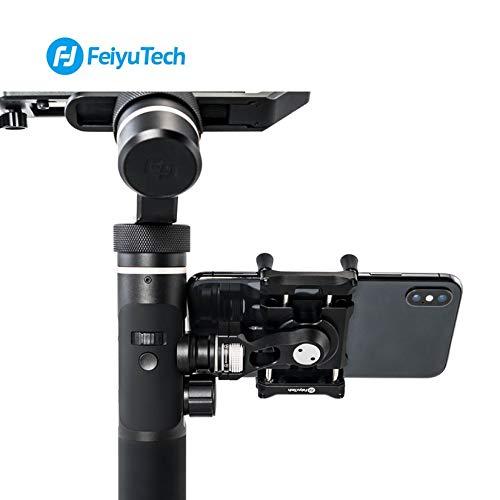 Wenwenzui-ES Telefonhalter Mount Adapter für SPG2 G6 G6 Plus Halterung Clip Clamp Halter für Action Kamera Gimbal für iPhone