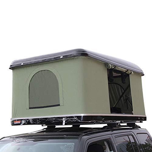 Techo Carpa Guardabosques Overland Impermeable Quick Open 2 Estuche de transporte para adultos Fácil de instalar para automóviles Camiones SUVs Camping Travel Mobile