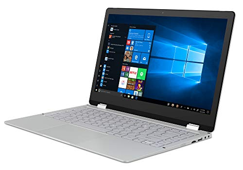 GeoFlex3 13.3' 2-in-1 Laptop Touchscreen Windows 10 Full HD Convertible Intel Pentium 4GB Ram 64GB eMMC Metal