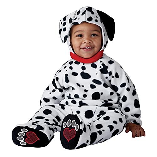 California Costumes Adorable Dalmatian Infant Costume, 18-24 Months White/Black