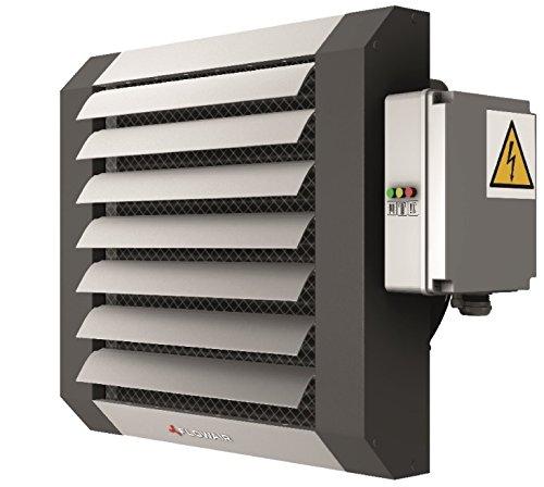 Lufterhitzer Elektrisch bis 23 kW Hallenheizung Luftheizung+ Steuerung Thermostat Schaltkasten