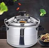 Cocina de presión a prueba de explosiones de aleación de aluminio, 15-70L Varias especificaciones de la cocina de presión de gran capacidad para el hogar, cocina de gas / cocina de inducción estufa ge