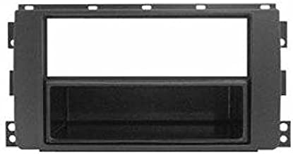 Mascherina autoradio 1 din cassetto rimovibile colore ANTRACITE