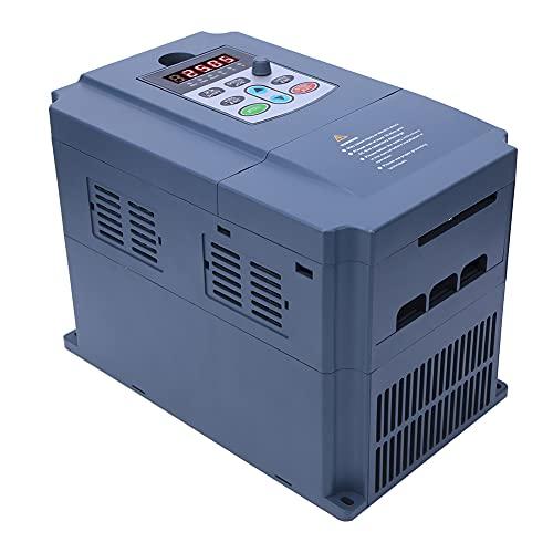 Inversor de frecuencia variable, plástico hecho AC220V a AC380V 2.2KW Convertidor de frecuencia de inversor