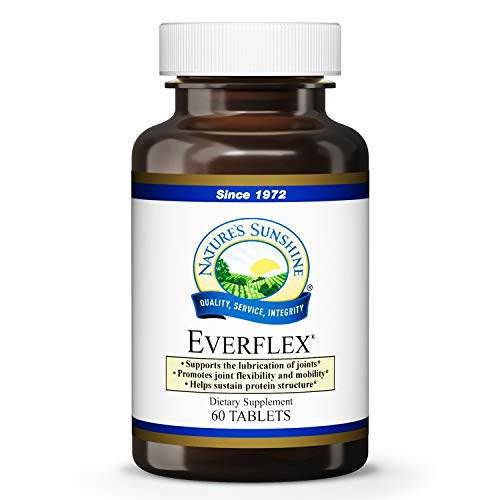 Natures Sunshine EverFlex w/Hyaluronic Acid, 60 Tablets | Powerful Joint Support Formula Helps Lubricate Joints, Boost Flexibility, and Promote Healthy Cartilage