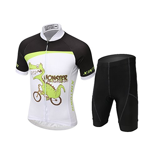 Body da ciclismo da ragazzo