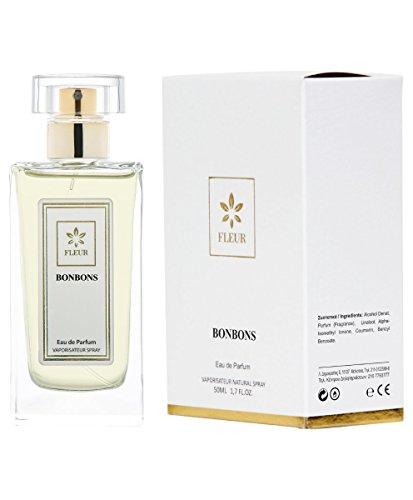 BONBONS - Eau de Parfum pour Femme / Flacon Vaporisateur Spray, 1 x 50 ml