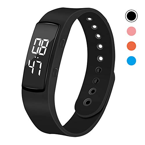 iGANK T6 Pedometer Watch Simple Fitness...