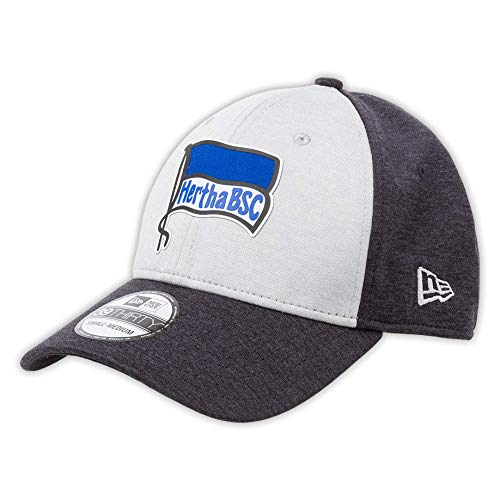Hertha BSC NewEra Cap 39THIRTY grau/Navy Gr. S/M