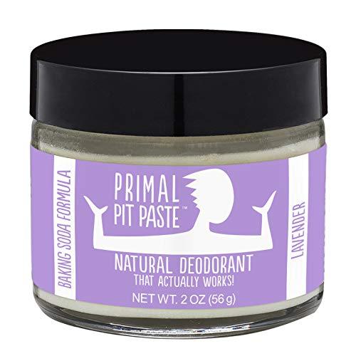 Primal Pit Paste All-Natural Deodorant - Aluminum & Paraben Free - Lavender Deodorant Jar