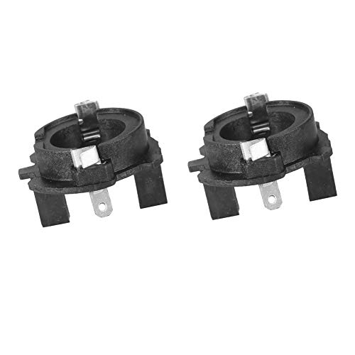 Adaptadores de faros delanteros H7, par de adaptadores de portalámparas para kit de conversión de faros delanteros LED H7 para MK5