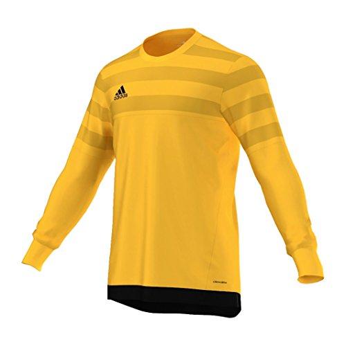 adidas Herren T-Shirt Entry 15 GK, Herren, Unterhemd, Entry 15 GK, Gelb/Schwarz, 128