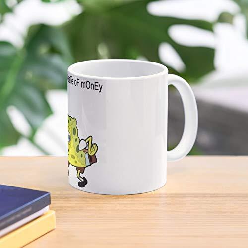 5TheWay Mocking Mug Spongebob Best 11 oz Kaffeebecher - Nespresso Tassen Kaffee Motive