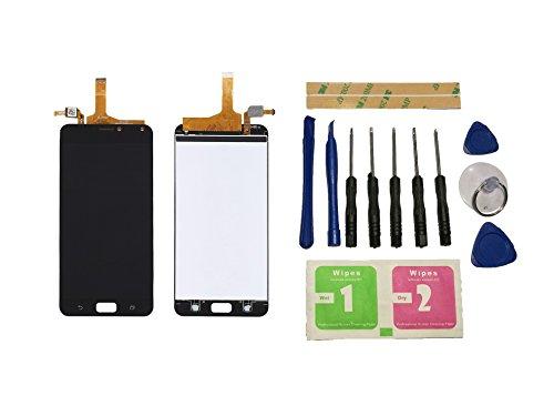 Flügel para ASUS zenfone 4 max ZC554KL X00ID Pantalla LCD pantalla Negro Táctil digitalizador Asamblea Pantalla ( sin marco ) de Recambio & Herramientas