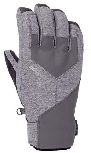 Gordini Men's Men's Aquabloc Ix Waterproof Insulated Gloves, Gunmetal, Medium