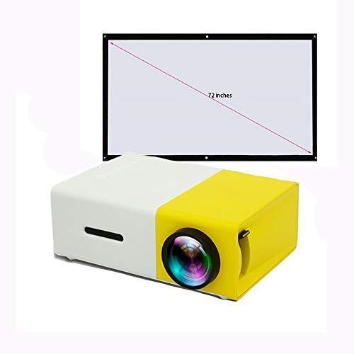 Home theater projectoren, 3D-audio-visuele functie, verticale keystone 1080p Full HD-apps batterij (verdeling van 72-inch zacht gordijn)