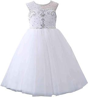 Castle Fairy Princess Girl Ball Gowns Sweetheart Beading Long Flower Girls Pageant Dresses