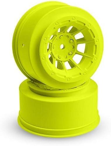 JConcepts Hazard Slash 2WD Front Wheel jaune (2) JCO3350Y by J Concepts