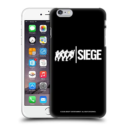 Head Case Designs Officially Licensed Tom Clancy's Rainbow Six Siege Attack Logos Hard Back Case Compatible with Apple iPhone 6 Plus/iPhone 6s Plus