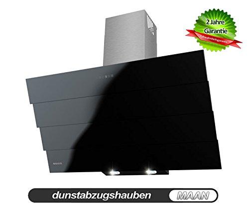 Dunstabzugshaube MAAN Saturn Quadro 60 cm, Touchscreen auf dem Schwarz Glas! Fernbedienung! LED-SMD! NEU! 820m3/h! EU Energieeffizienzklasse A! aus Deutschland(Viersen)!!!