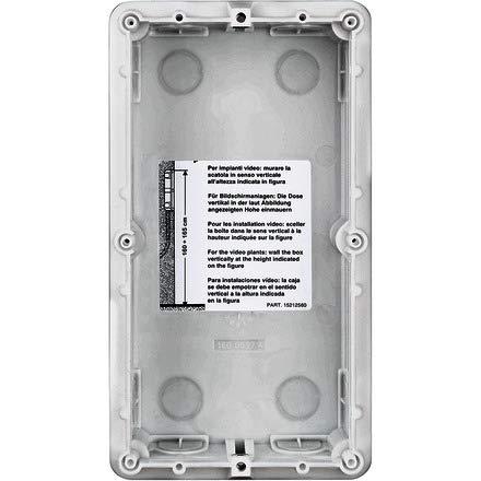 Unterputzdose für SFERA Türstationen, 2-modulig, Horizontal und vertikal einreihbar