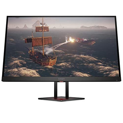 OMEN 27i 2K (27 pollici/QHD IPS 165 Hz) Gaming Monitor (AMD FreeSync Premium, Nvidia G-Sync, 2560 x 1440, 1 ms, Ambient RGB), nero
