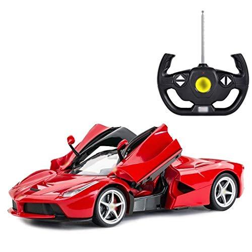 1/14 Escala de control remoto de fundición a presión Modelo de coches, juguetes for niños, arte de la escultura del escritorio del hogar Decoración del lugar de trabajo de oficina, 33.6x14.2x8.3cm (Co