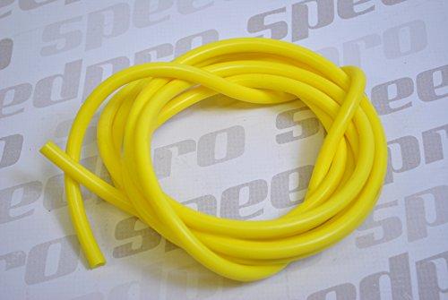 Preisvergleich Produktbild Sport Silikon Unterdruckschlauch Durchmesser 3mm Länge 3m - gelb - Speedpro Verpackung