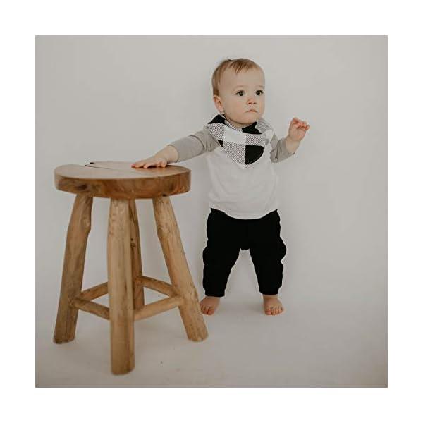 "Parker Baby Bandana Drool Bibs – 8 Pack Baby Bibs for Boys, Girls, Unisex -""Lunar Set"""