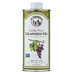 Image of La Tourangelle Grapeseed Oil 25.4 Fl Oz, All-Natural, Artisanal, Great for Cooking, Sauteing, Marinating, and Dressing: Bestviewsreviews