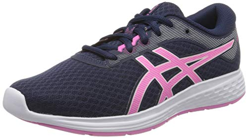 Asics Unisex-Child 1014A070 running shoes, navy, 37 EU