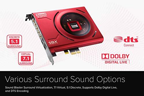Creative Sound Blaster Z SE Interno 7.1 canales PCI-E
