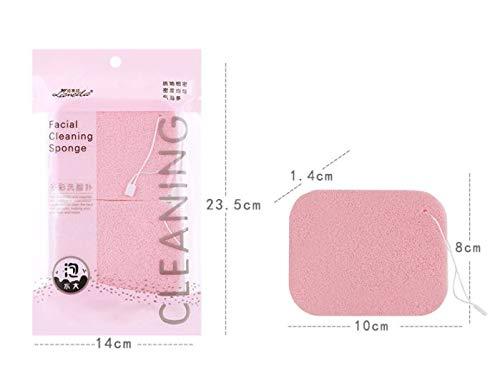 Éponge Douce Cosmétique Houppette de Maquillage Outil, 11 * 9.5cm Pouces, 2 Pack
