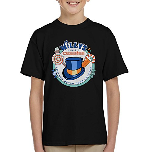 Cloud City 7 Willy Wonka Willys kwaliteit snoepjes kind T-Shirt