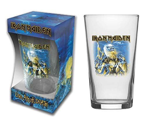 Iron Maiden Live After Death - Vaso de cerveza (tamaño XL)