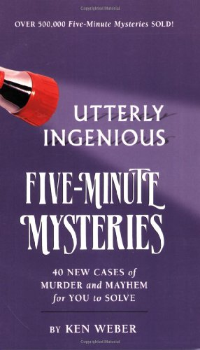 Utterly Ingenious Five Minute Mysteriesの詳細を見る