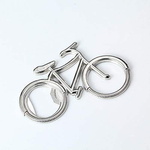 Later Bicicleta deportiva de metal, abrebotellas, llavero, llavero para coche, exterior, bar, restaurante.