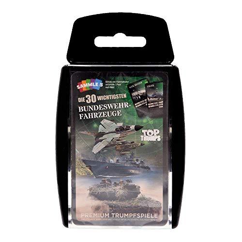 Café Viereck ® Top Trumps Quartett Bundeswehr Edition - das perfekte Kartenspiel für jeden Soldaten, Reservisten, Veteran oder Zivilisten