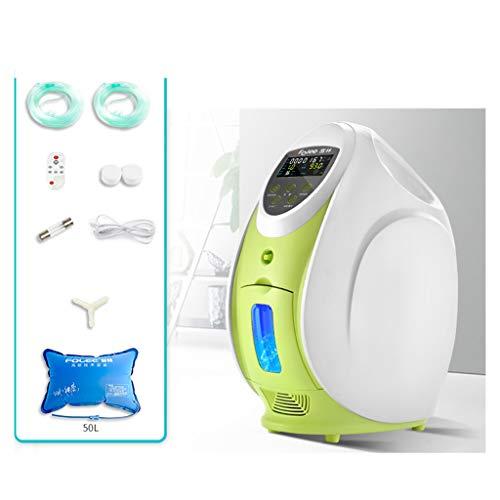 Home appliances Ventilatore Portatile, concentrazione 93% ± 3% / Flusso 1-7L Regolabile, Adatto per Anziani, Donne in Gravidanza, Bambini