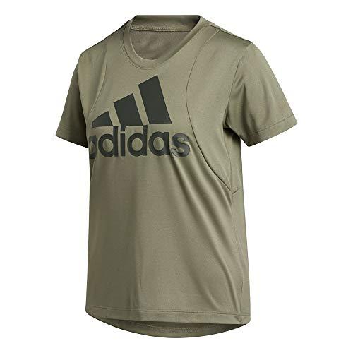 adidas Damen Bos Logo T-Shirt, Leggrn/Legear, XS
