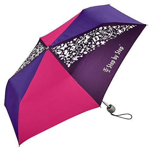 Step by Step Purple / Rose Regenschirm