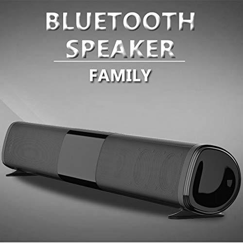 Speaker40W Barra de sonido inalámbrica altavoz Bluetooth TWS100W Columna Home Theater Surround Cinema Barra de sonido Trabajo en TV a través de RCA Cable altavoz de TV