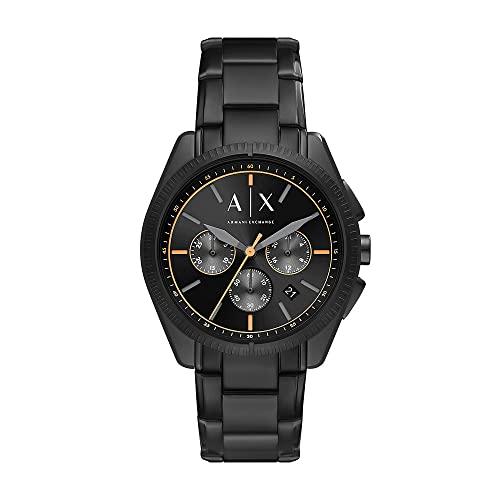 Armani Exchange Mens Analog Quartz Uhr mit Stainless Steel Armband AX2852