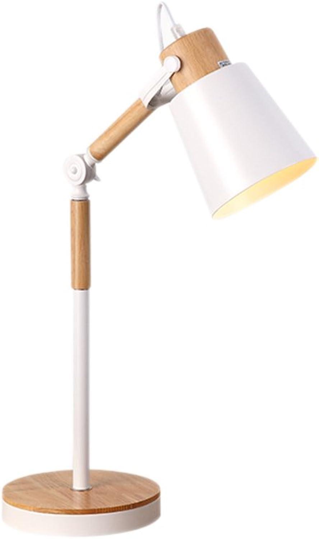 Schlafzimmer Nachttischlampe kreative Nordic Persönlichkeit einstellbar Urlaub Holz Bett Kopf warme Auge Leselampe B07H1W724V     | Exquisite (in) Verarbeitung