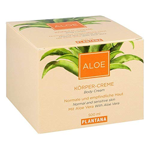 Plantana Aloe Vera Körpercreme, 500 ml