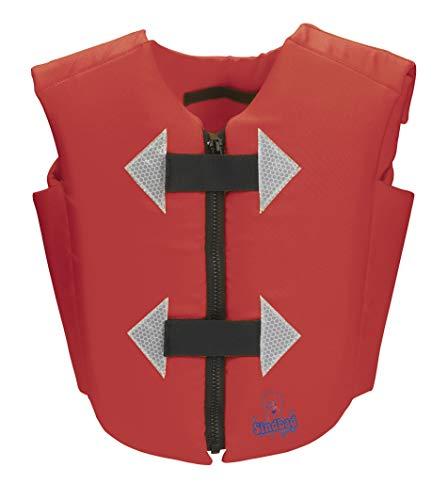 BECO Unisex Jeugd zwemmers Sindbad vest zwemlerenvest, rood, 2-6 jaar