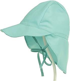 JJSPP Baby Sun Hat Adjustable Summer Baby Cap for Boys Travel Beach Children Hats (Size : Large)