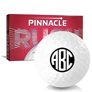 Pinnacle Rush Monogram Personalized Golf Balls