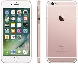 Apple iPhone 6S, GSM Unlocked, 64GB - Rose Gold (Renewed)