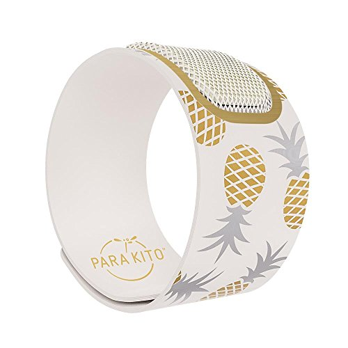para'Kito, Parakito, Mosquito Repellent Wristband Bracelet, Mosquito Repellent Wristband, Waterproof, Deet Free, 100% All Natural Plant Based - Party Edition (Bangkok)